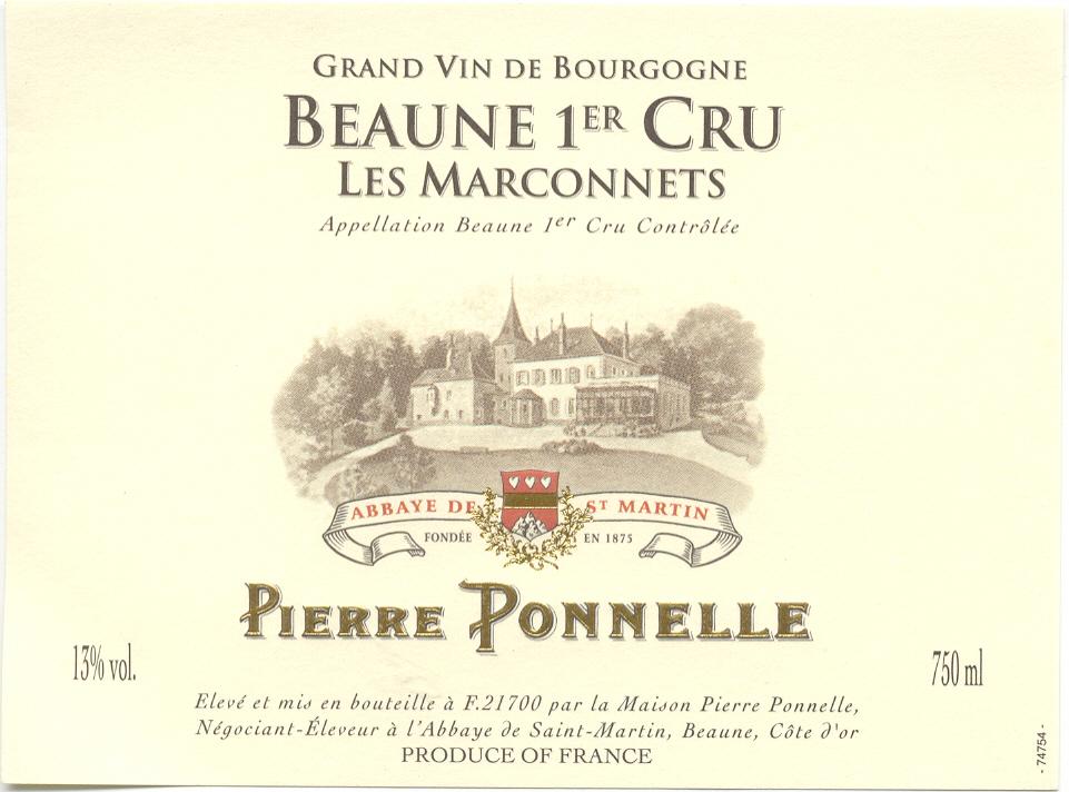 Beaune 1er Cru «Les Marconnets»