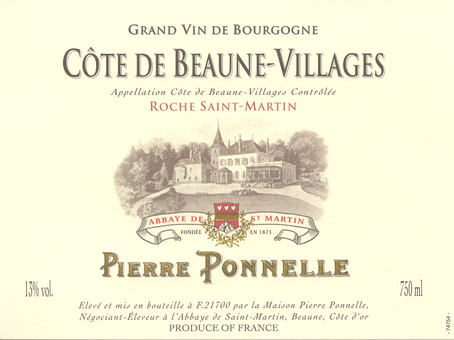 Côte de Beaune Villages – Roche Saint Martin