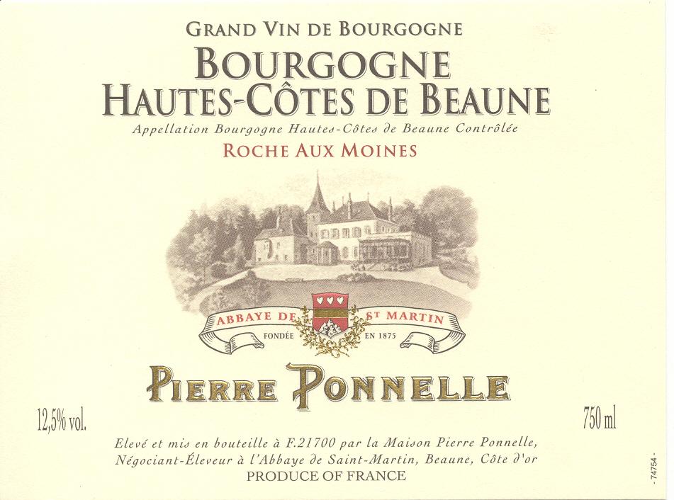 Bourgogne Hautes Côtes de Beaune – Roches aux Moines